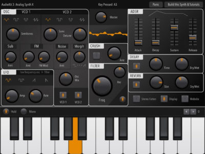 Audiokit Synth One