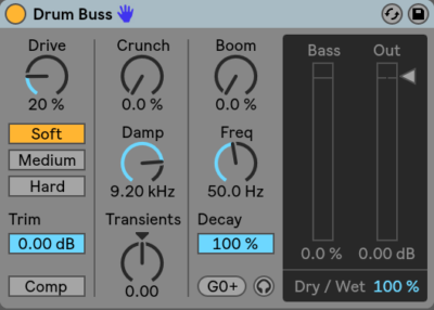 tutorial ableton live 10 drum bus