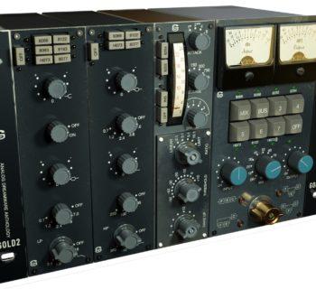 Acustica Audio Gold2 channel strip analog process mix bundle eq comp pre