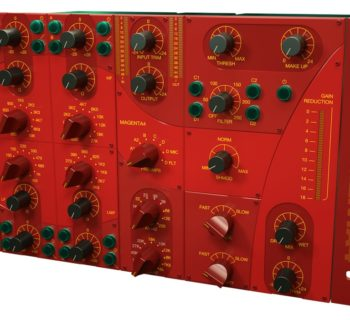 Acustica Audio Magenta4 Channelstrip comp eq pre virtual