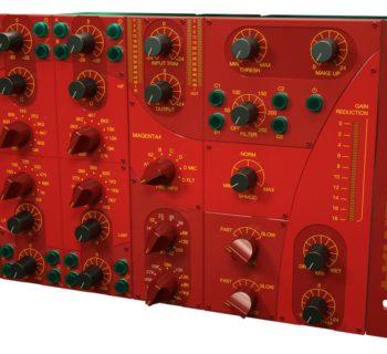 Acustica Audio Magenta4 Channelstrip comp eq pre virtual
