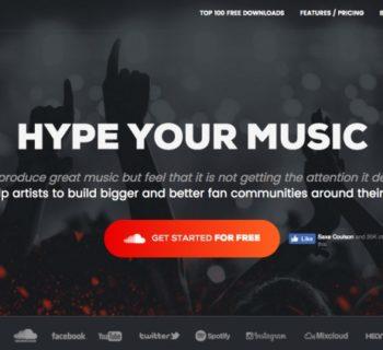 Hypeddit music business promozione social fan