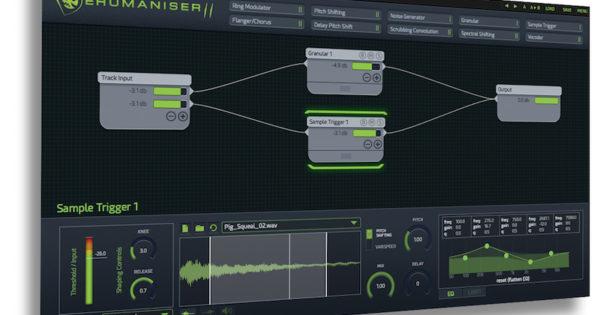 Krotos Audio Dehumaniser plugin audio sound design