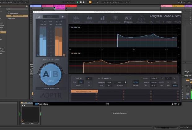 ADPTR Metric AB plugin alliance software plug-in audio meter