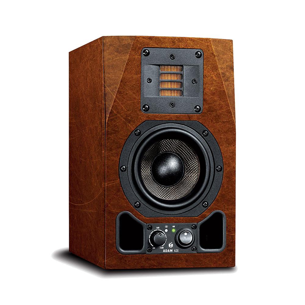 Adam Audio A3X Copper custom skin monitor audio