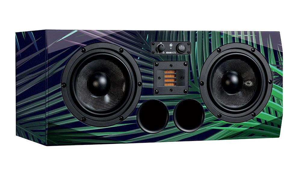 Adam Audio A77X custom skin monitor audio