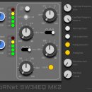 HoRNet SW34EQ MK2 plug-in audio eq processing virtual daw audiofader