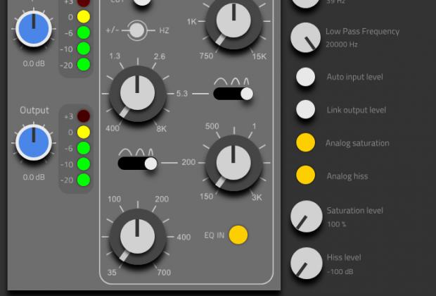 HoRNet SW34EQ MK2 plug-in audio eq processing virtual daw audiofader