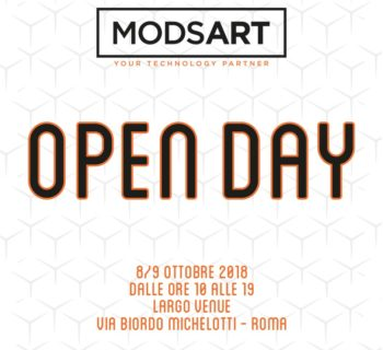 Open Day ModsArt roma eventi ssl distributore