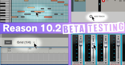 Propellerhead Reason 10.2 update aggiornamento software DAW
