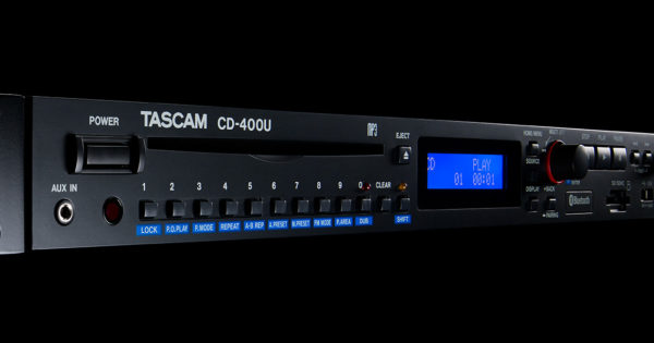 Tascam CD-400U media player