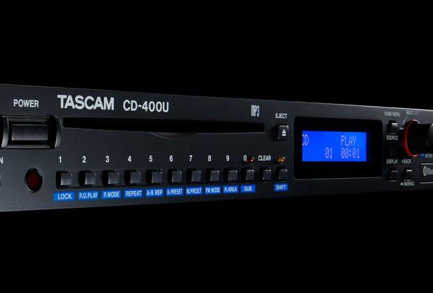 Tascam CD-400U media player
