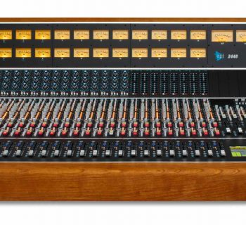 API 2448 console hardware analog record mix