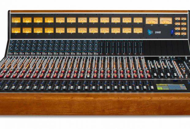 API 2448 console hardware analog record mix