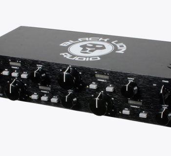 Black Lion B173 Quad pre analog hardware outboard rack