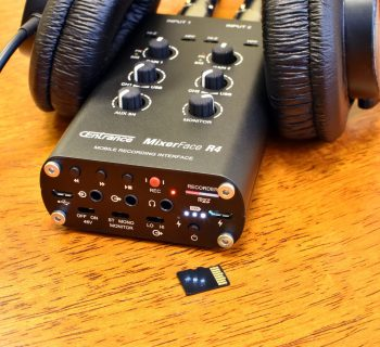 CEntrance MixerFace R4R mixer interfaccia audio mobile device
