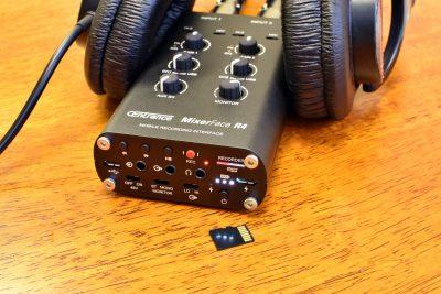 CEntrance MixerFace R4R mixer interfaccia audio mobile device