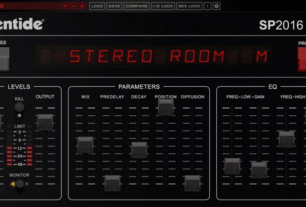 Eventide SP2016 plug-in audio reverb virtual