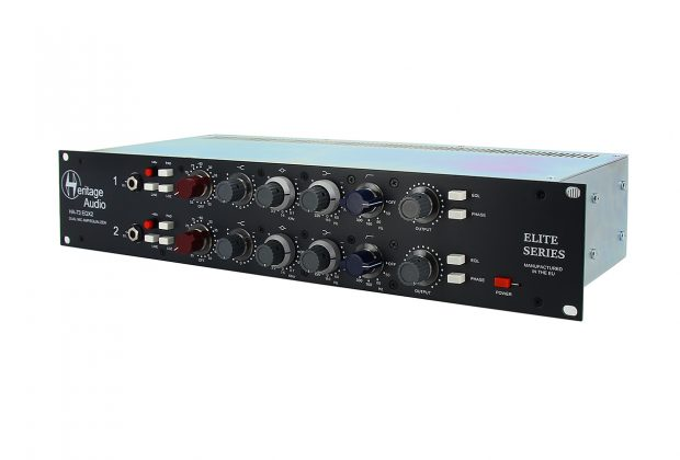 Heritage Audio HA73EQX2 Elite pre eq outboard analog hardware record