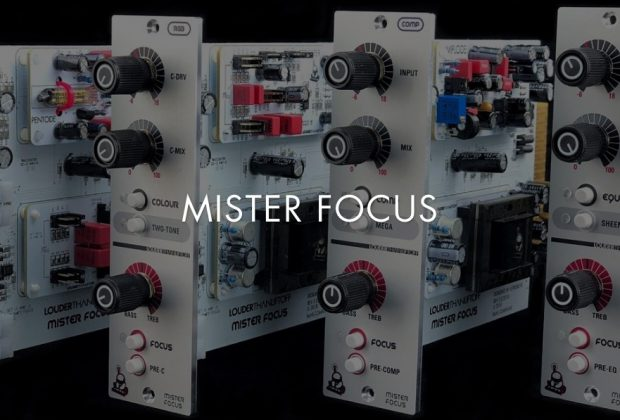 Louder Than Liftoff Mister Focus Collection rack analog hardware outboard processing