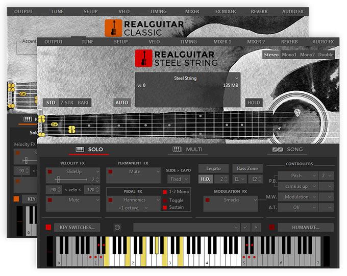 MusicLab RealGuitar 5 virtual instrument