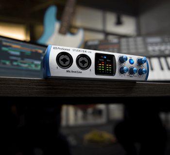 PreSonus Studio 2 4 usb-c interfaccia audio midi music
