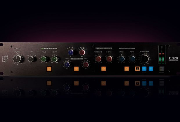 SSL Fusion hardware outboard analog