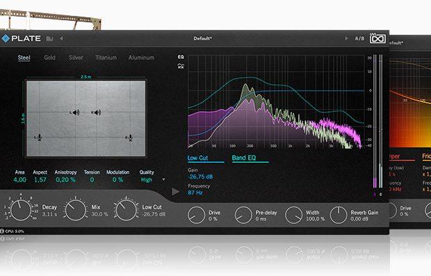 UVI Plate reverb virtual plug-in audio fx effect