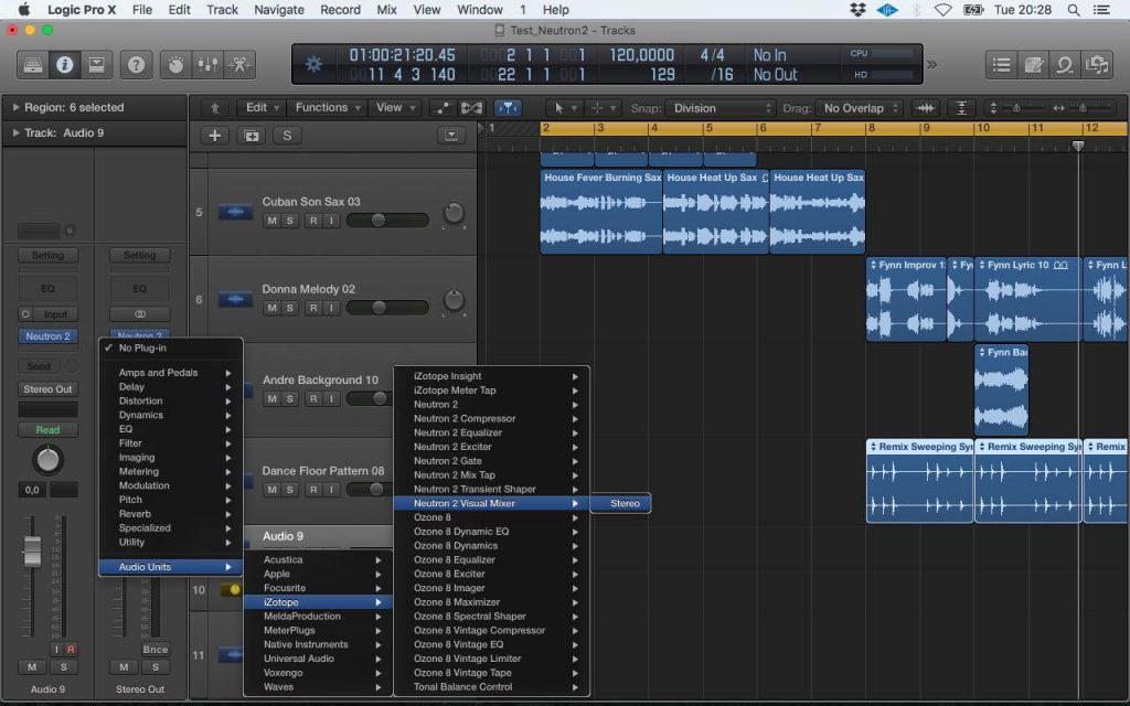 iZotope Neutron 2 advanced plug-in audio mix virtual software