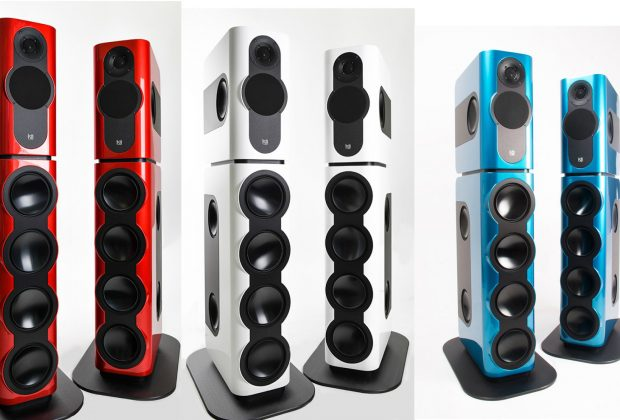 kii three bxt system monitor audio