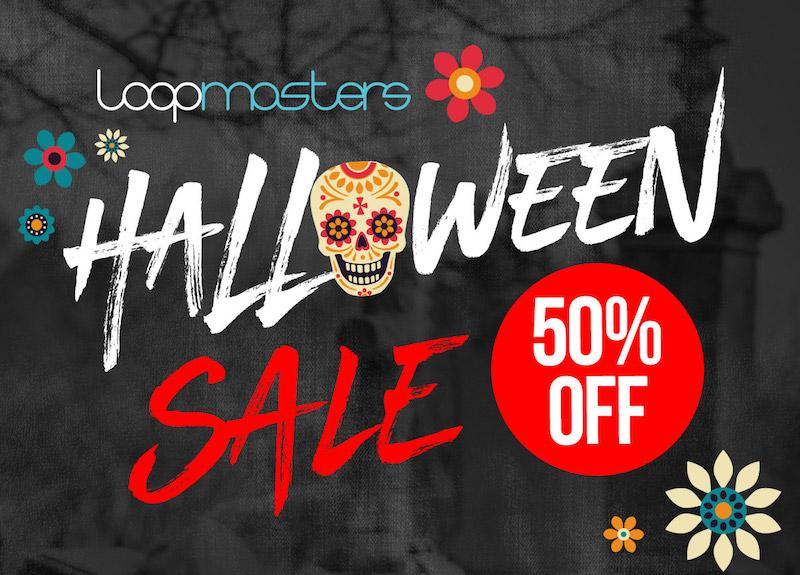 Halloween Sale 2018 plug-in virtual instrument digital software loopmasters