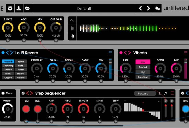unfiltered audio byome plug-in virtual daw processing