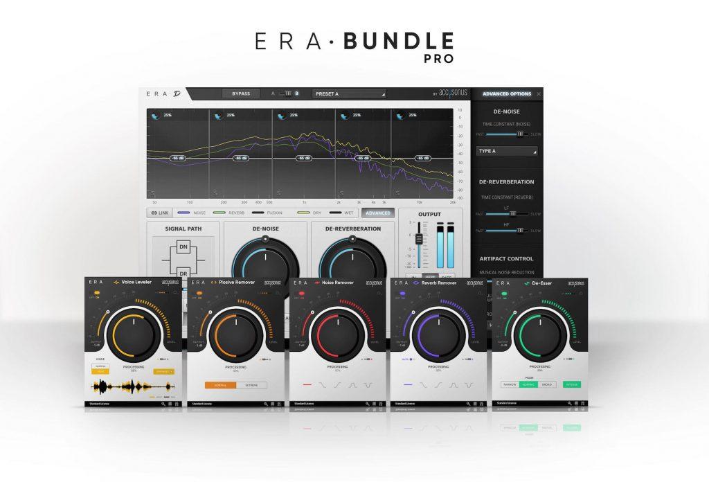 Accusonus ERA Voice Leveler plug-in audio virtual daw