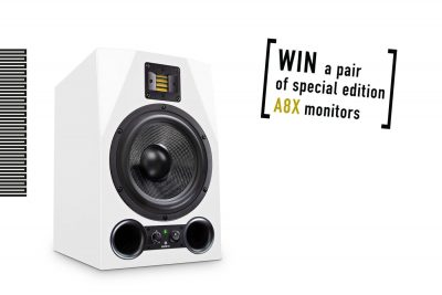 Adam Audio A8X special edition competition soundtrack