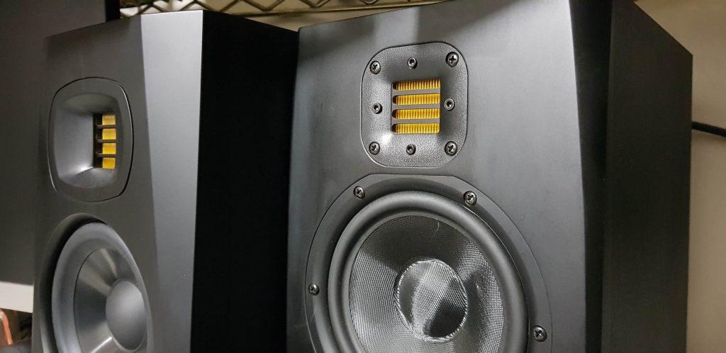 adam audio tv5 monitor home studio record mix midi music