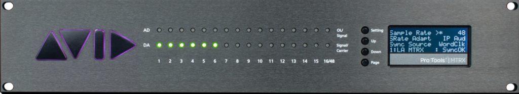 Avid MTRX recensione audiofader luca pilla