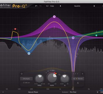FabFilter Pro-Q 3 plug-in eq dinamico virtual audio itb mix daw