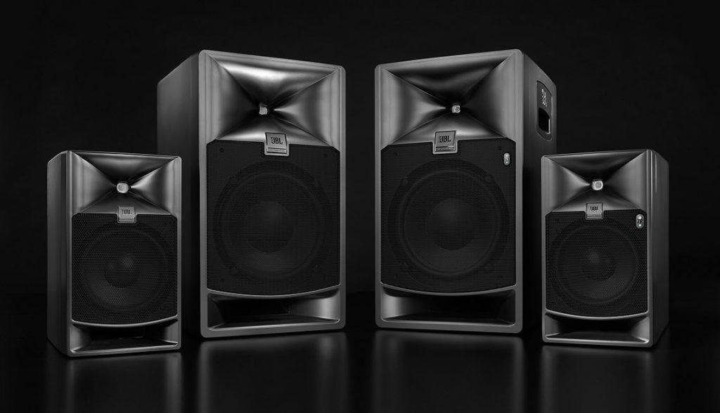 JBL Serie 7 monitor studio audio pro