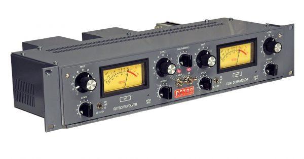 Retro Instruments Revolver outboard hardware analog compressor funky junk