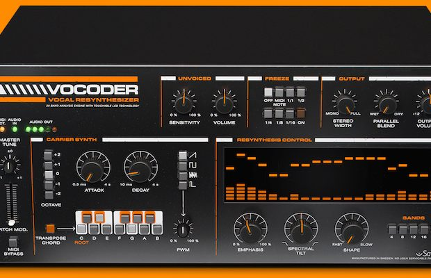 UAD Softube Vocoder universal audio plug-in