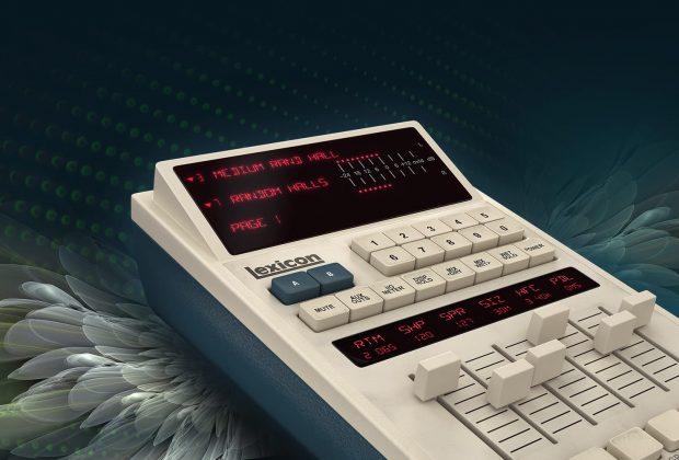Universal Audio UAD lexicon 480l plug-in audio virtual