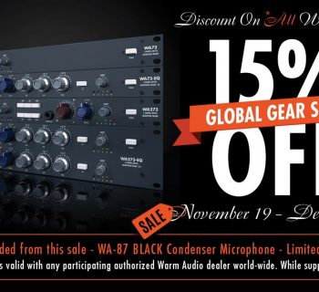Warm Audio offerte 2018 midiware outboard hardware eq comp pre mic