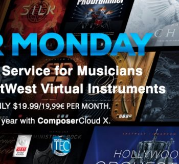 east west cyber monday composers cloud virtual instrument
