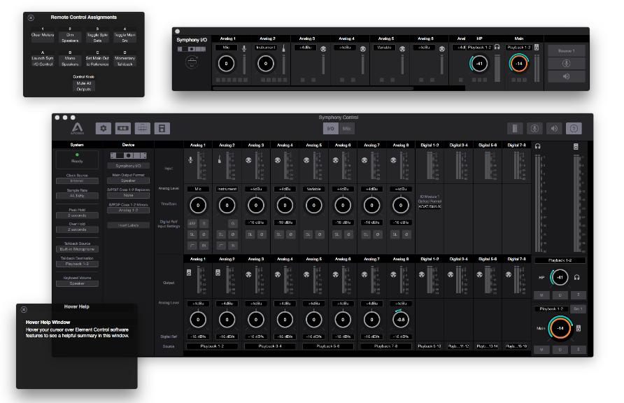Apogee control symphony I/O mkII 8x8 interfaccia audio pro rec mix hardware studio soundwave
