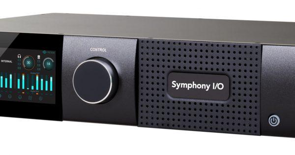Apogee symphony I/O mkII 8x8 interfaccia audio pro rec mix hardware studio soundwave audiofader