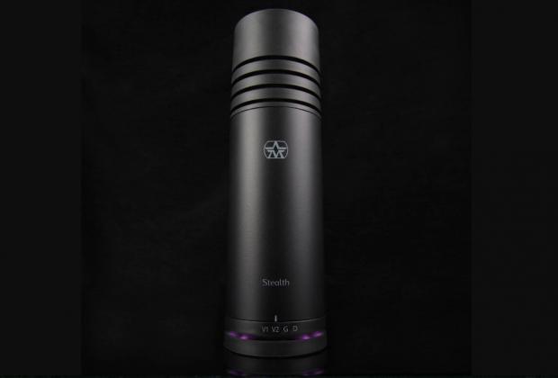 Aston Microphones Stealth mic condensatore cardioide broadcast studio rec live
