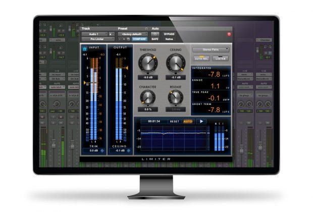 Avid Pro Tools Pro Limiter plug-in audio mix master rec itb virtual strumenti musicali