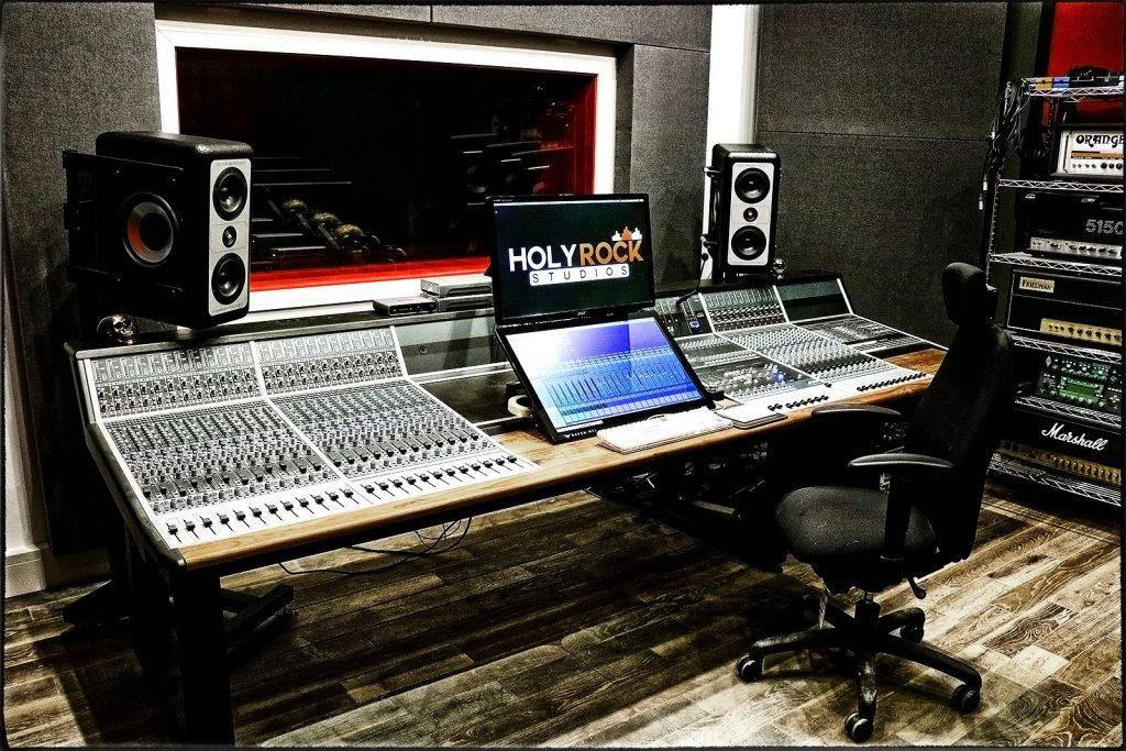 Holy Rock studio recording mix analog hardware console audient asp8024