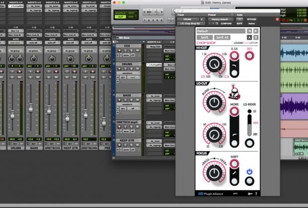 Louder Than Liftoff Chop Shop plug-in audio virtual software daw mix