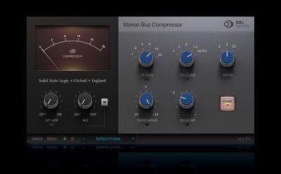 SSL Native Bus Compressor V6.2 bundle plug-in update daw virtual audio pro audiofader